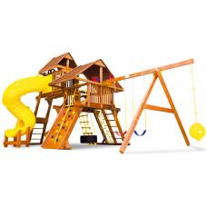 Детский игровой комплекс Rainbow Саншайн Кастл V Делюкс ДК (Sunshine Castle V WR Deluxe)