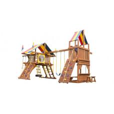 Детский игровой комплекс Rainbow Саншайн Кастл с Башней Тент (Sunshine Castle with Tower RYB)