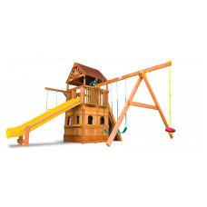 Детский игровой комплекс Rainbow Саншайн Клубхаус II Закрытый Домик ДК (Sunshine Clubhouse II with LL WR)