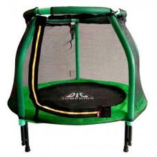 Батут DFC JUMP KIDS 48 cветло-зеленый сетка 120cм