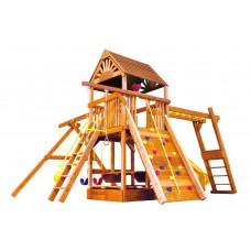 Детский игровой комплекс Rainbow Саншайн Клубхаус III Делюкс ДК (Sunshine Clubhouse III WR Deluxe)