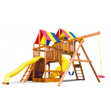Детский игровой комплекс Rainbow Саншайн Клубхаус V Лайт Тент (Sunshine Clubhouse V RYB Light)