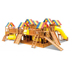 Детский игровой комплекс Rainbow Метрополис Тент (Metropolis RYB)