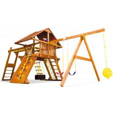 Детский игровой комплекс Rainbow Саншайн Кастл III Делюкс ДК (Sunshine Castle III WR Deluxe)