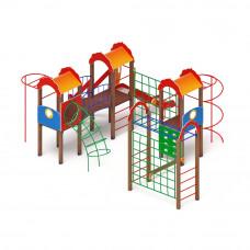 Детский игровой комплекс Скиф Городок горка Н 1200