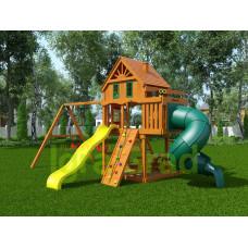 Детская площадка IgraGrad Шато с трубой Домик