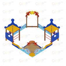 Песочный дворик Скиф Морской