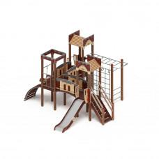 Детский игровой комплекс Скиф Замок горка Н 1200