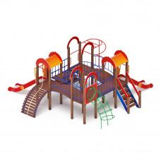 Детский игровой комплекс Скиф Дворик детства горка Н 1200