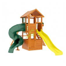 Детский игровой комплекс IgraGrad Клубный домик с трубой