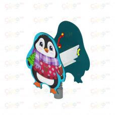 Качалка на пружине Скиф Пингвиненок