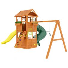 Детский игровой комплекс IgraGrad Клубный домик с трубой Luxe
