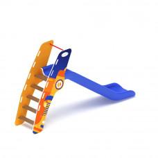 Горка пластиковая Скиф Н-1200 (синяя)