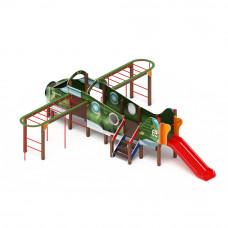Детский игровой комплекс Скиф Аэроплан горка Н 900