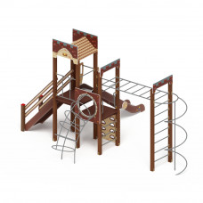 Детский игровой комплекс Скиф Замок горка Н 1500