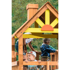 Детская игровая площадка городок Выше Всех Победа Зарница