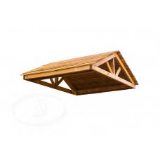 Крыша деревянная Можга Красная Звезда