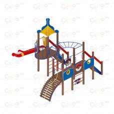 Детский игровой комплекс Скиф Морской горка Н 1500
