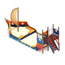 Песочный дворик Скиф Морской Яхта