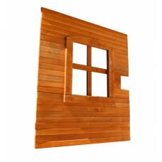 Стенка с окном для качели Можга Красная звезда