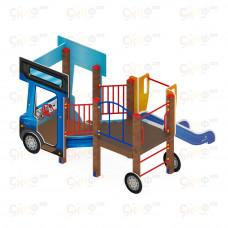 Детский игровой комплекс Скиф Грузовичок горка Н 750