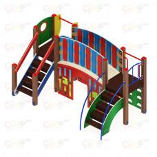 Детский игровой комплекс Скиф Карапуз горка Н 900