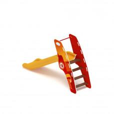 Горка пластиковая Скиф Н-900 (желтая)