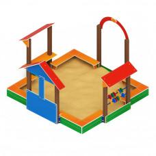 Песочный дворик Скиф Теремок