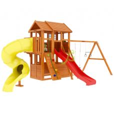 Детский игровой комплекс IgraGrad Клубный домик 3 с трубой