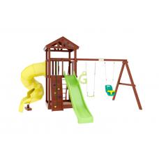 Детская игровая площадка IgraGrad Панда Фани с винтовой трубой