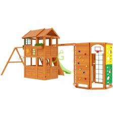 Детский игровой комплекс IgraGrad Клубный домик 2 с WorkOut