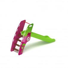 Горка пластиковая Скиф Н-900 (зеленая)