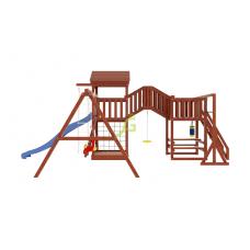 Детская игровая площадка IgraGrad Панда Фани Gride мостик