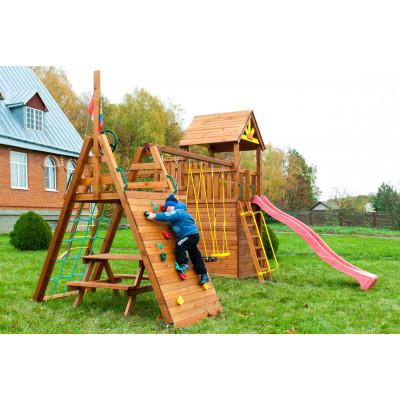 Детская игровая площадка городок Выше Всех Крепость Спорт