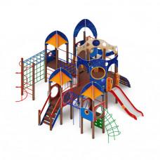 Детский игровой комплекс Скиф Космопорт горка Н 1200 горка Н 750