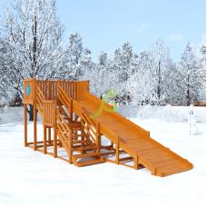 Зимнияя горка IgraGrad Snow Fox скат 5,9 м