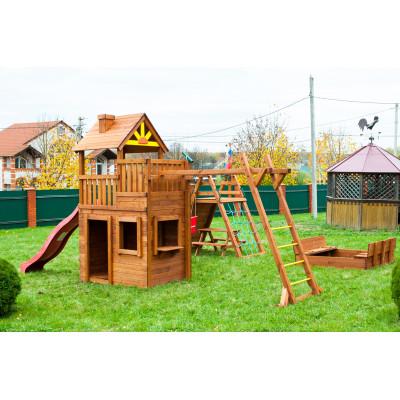 Детская игровая площадка городок Выше Всех Крепость Застава