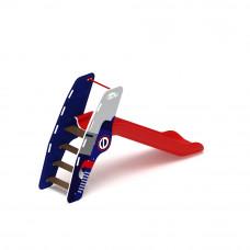 Горка пластиковая Скиф Н-900 (красная)