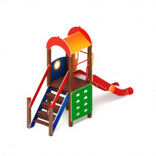 Детский игровой комплекс Скиф Играйте с нами горка Н 1200