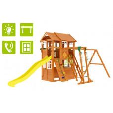 Детский игровой комплекс IgraGrad Клубный домик 2 с рукоходом Luxe