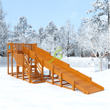 Зимняя горка IgraGrad Snow Fox скат 8 м