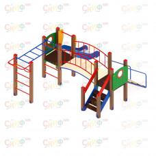 Детский игровой комплекс Скиф Карапуз горка Н 750