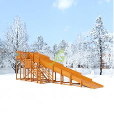 Зимняя горка IgraGrad Snow Fox скат 10 м