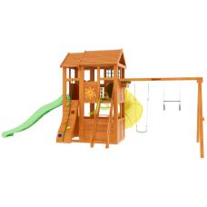 Детский игровой комплекс IgraGrad Клубный домик 2 с трубой