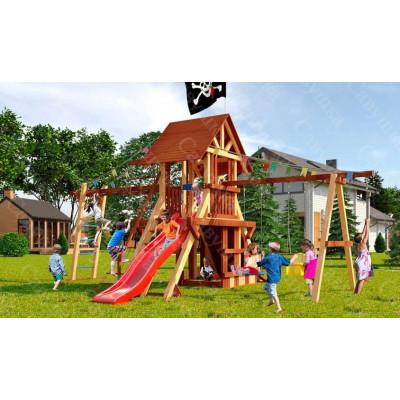 Детская игровая площадка Савушка Lux 4