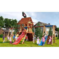 Детская игровая площадка Савушка Lux 8