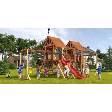 Детская игровая площадка Савушка Lux 9