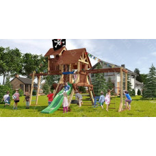 Детская игровая площадка Савушка Lux 10