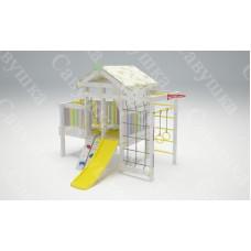 Игровой комплекс для общественных мест Савушка Baby club 3