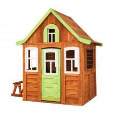 Детский деревянный домик Можга Цветочный